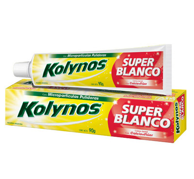 Kolynos Super Blanco Micropartículas